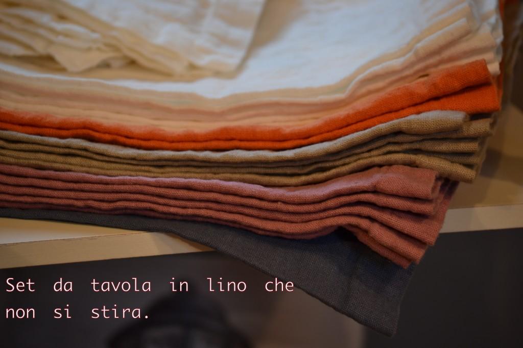 Set da tavola in lino