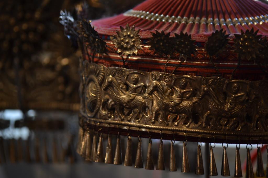 Copricapo da cerimonia etnia Miao