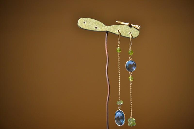 Orecchini rosario