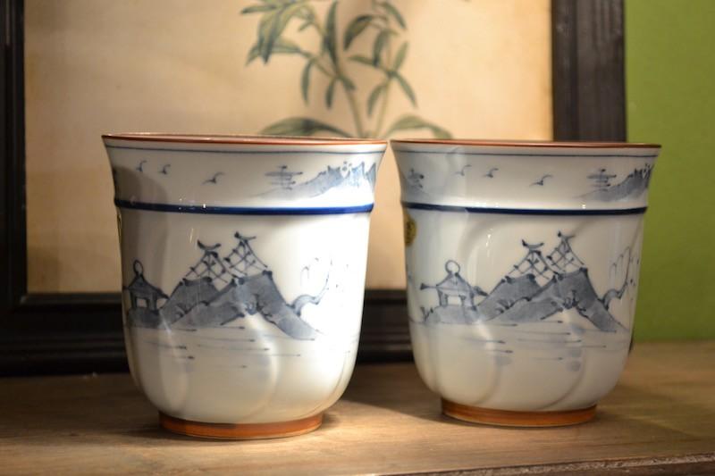 Coppia di tazze giapponesi