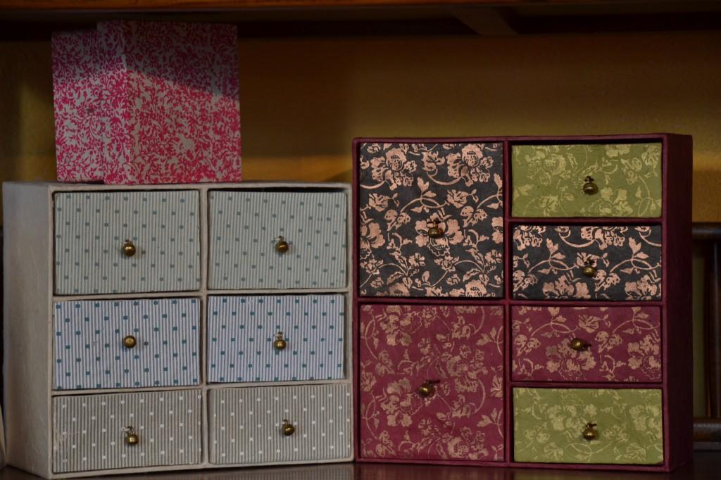 Portagioie, scatoline, quaderni e portafoto in carta naturale