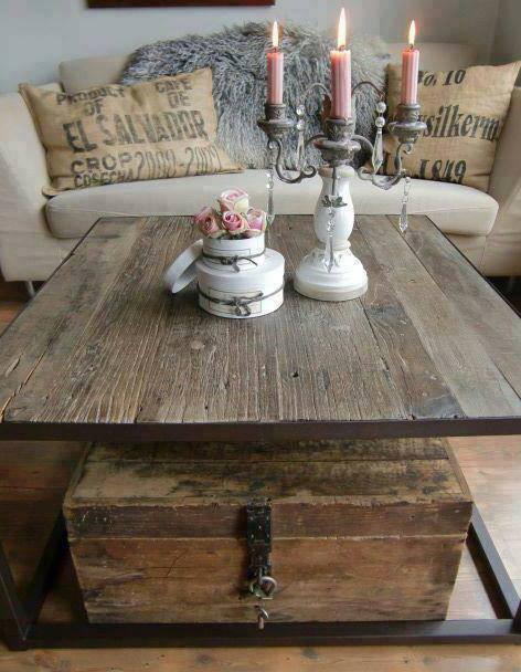 Mobili in vecchio legno di olmo
