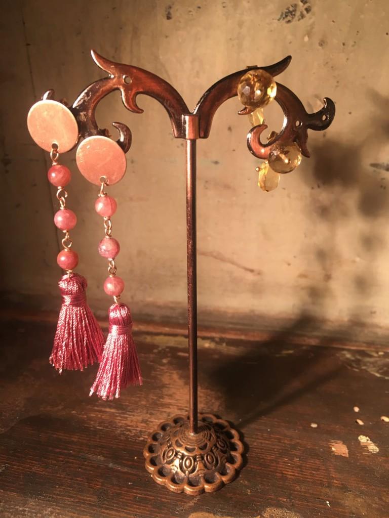 Nuova collezione orecchini con pietre