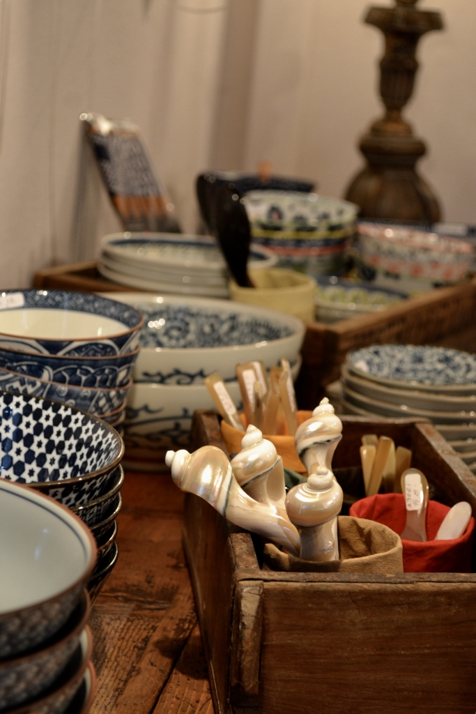 Servizi sushi – Giappone, Cucchiai in madreperla e corno – Vietnam