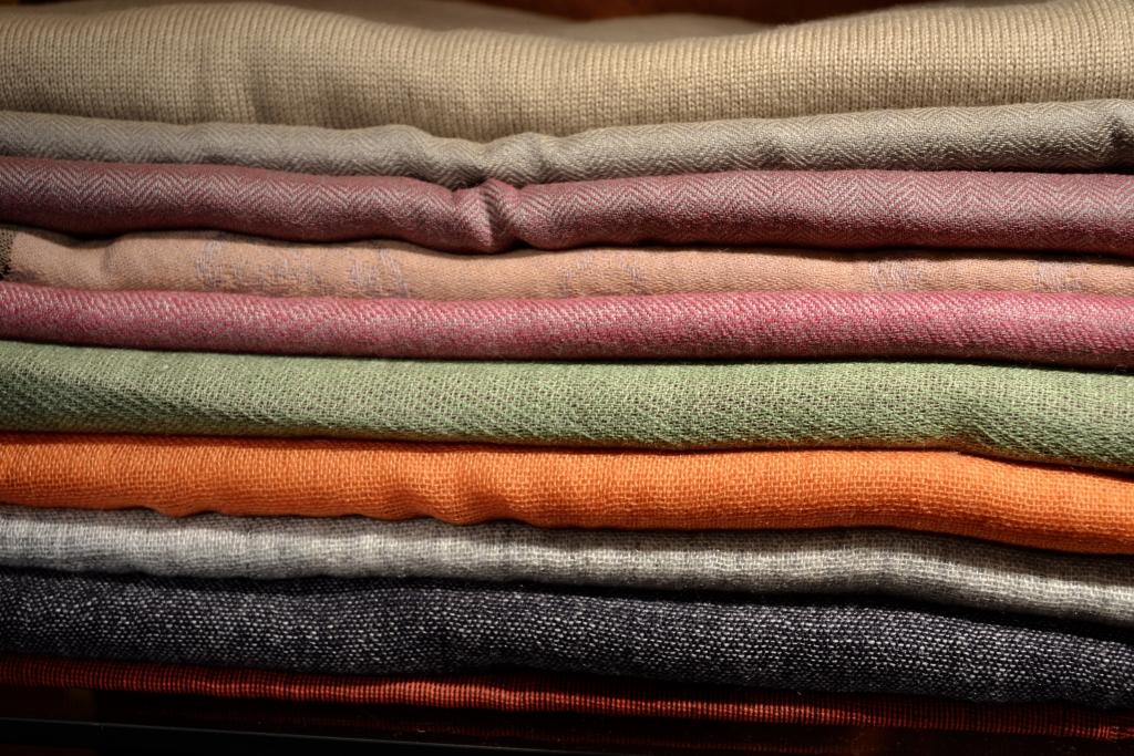 Sciarpe in lana – seta – cachemire e cotone