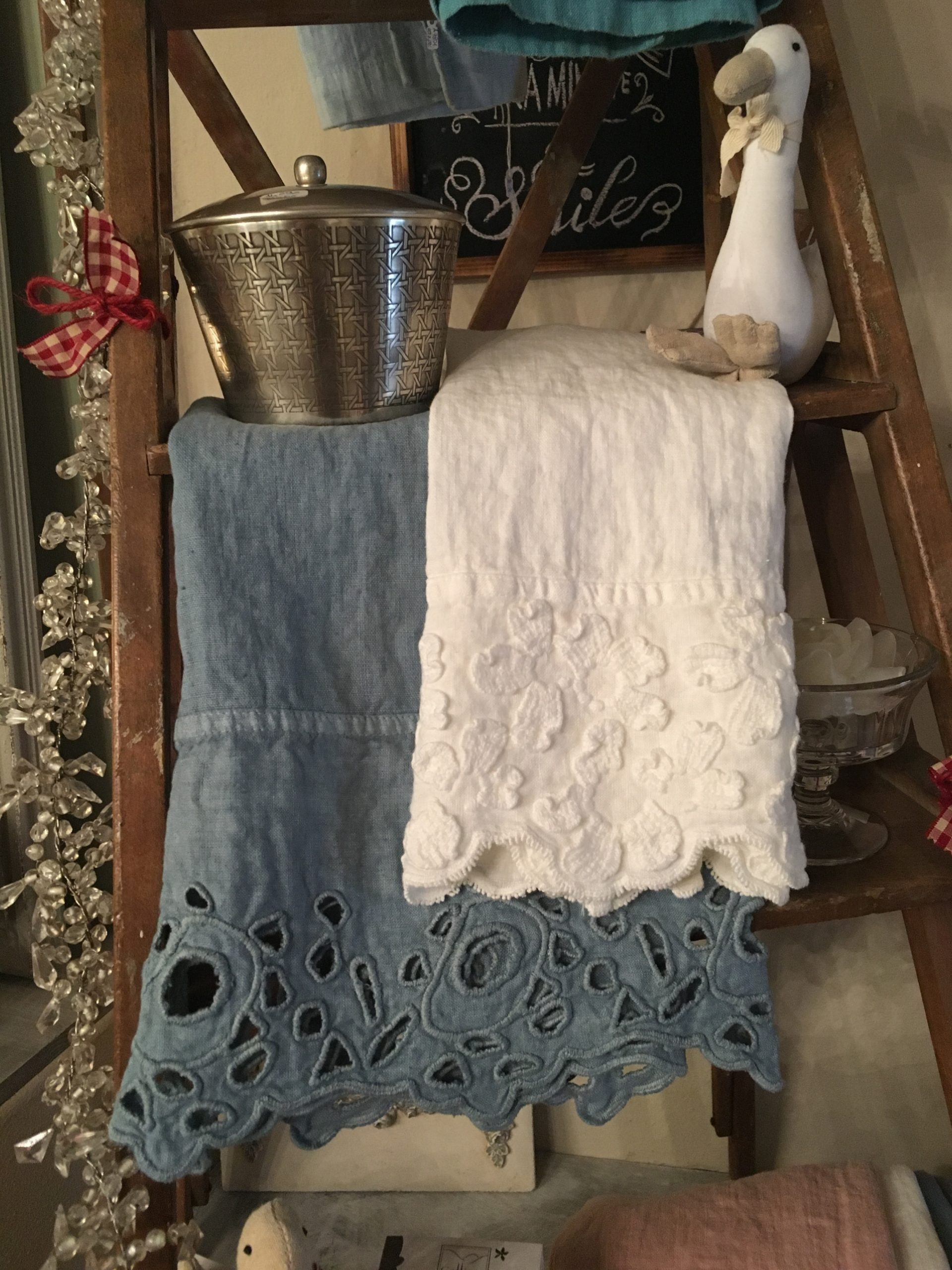 Asciugamani in lino 100%