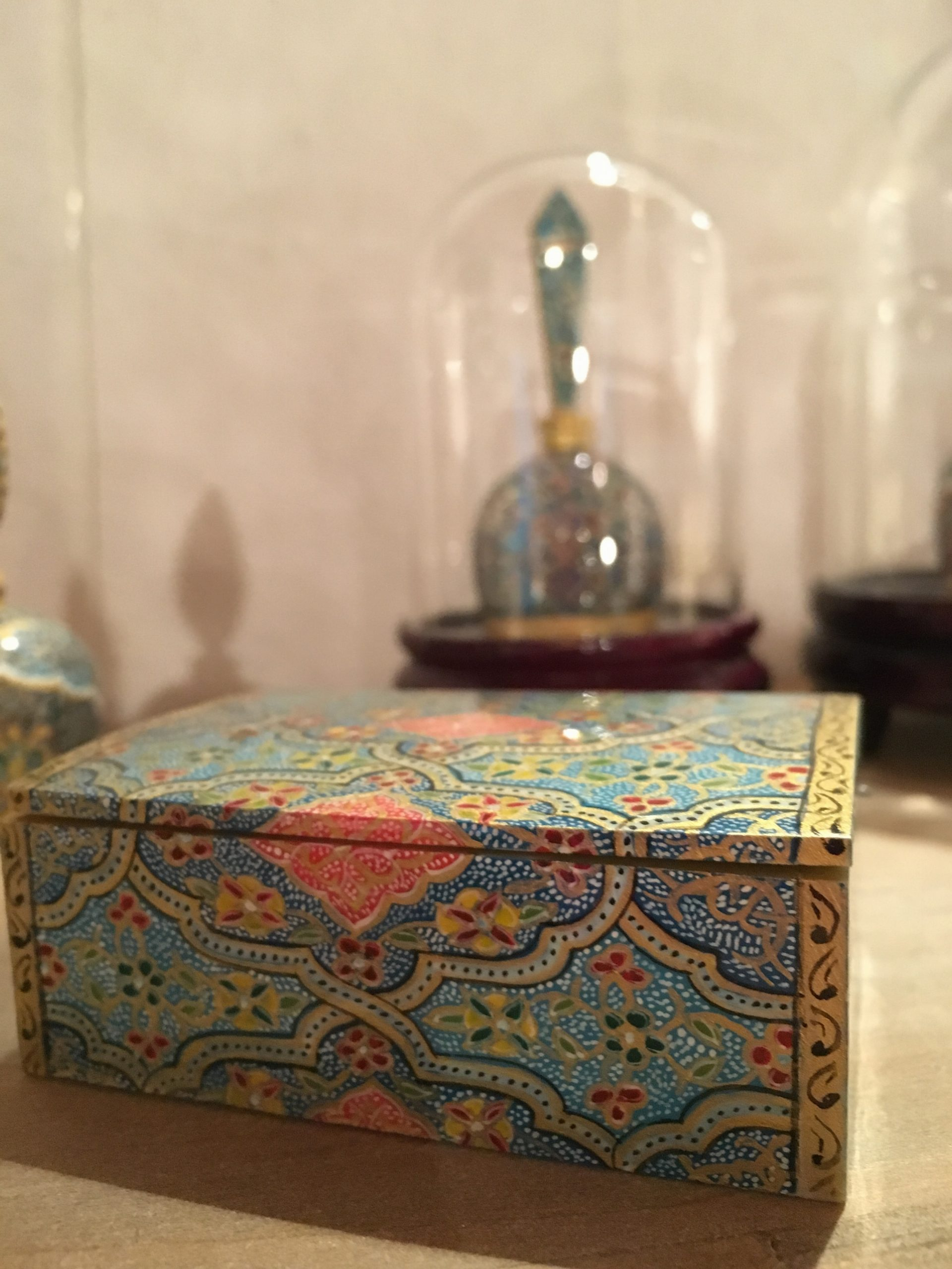 Miniature persiane in osso