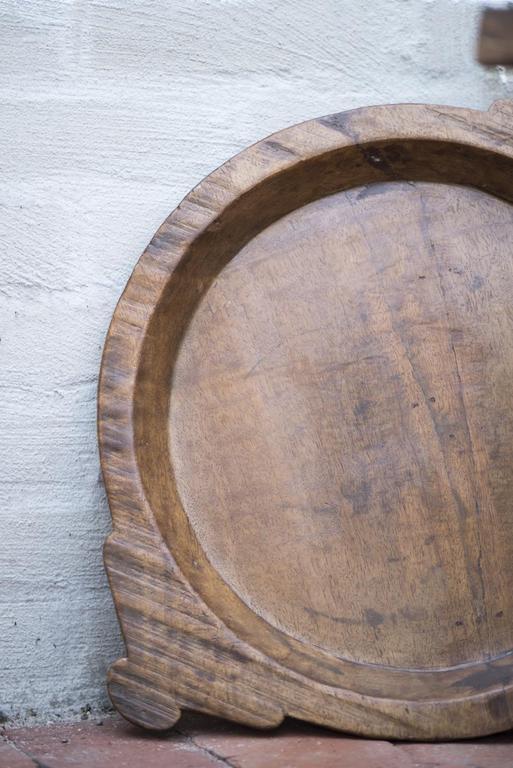 Piatti in legno indiani