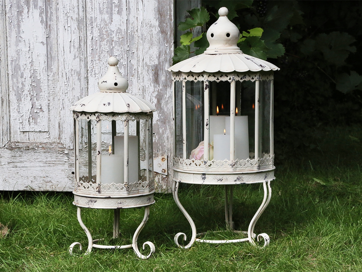 Lanterne in metallo shabby
