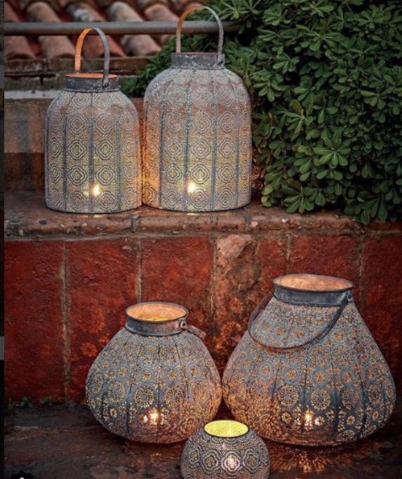 Lanterne… luce… atmosfera…