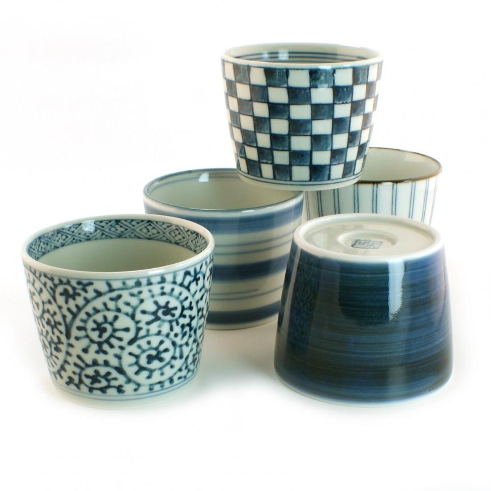 servizi in ceramica thé riso e sushi Giappone