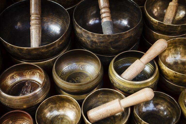 Campane tibetane – singing bowls